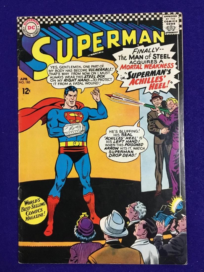 Superman #185