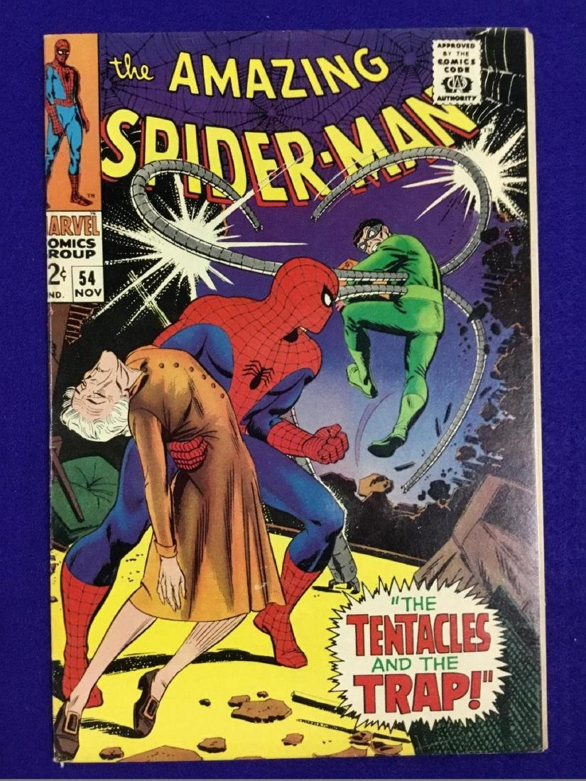 The Amazing Spiderman number 54