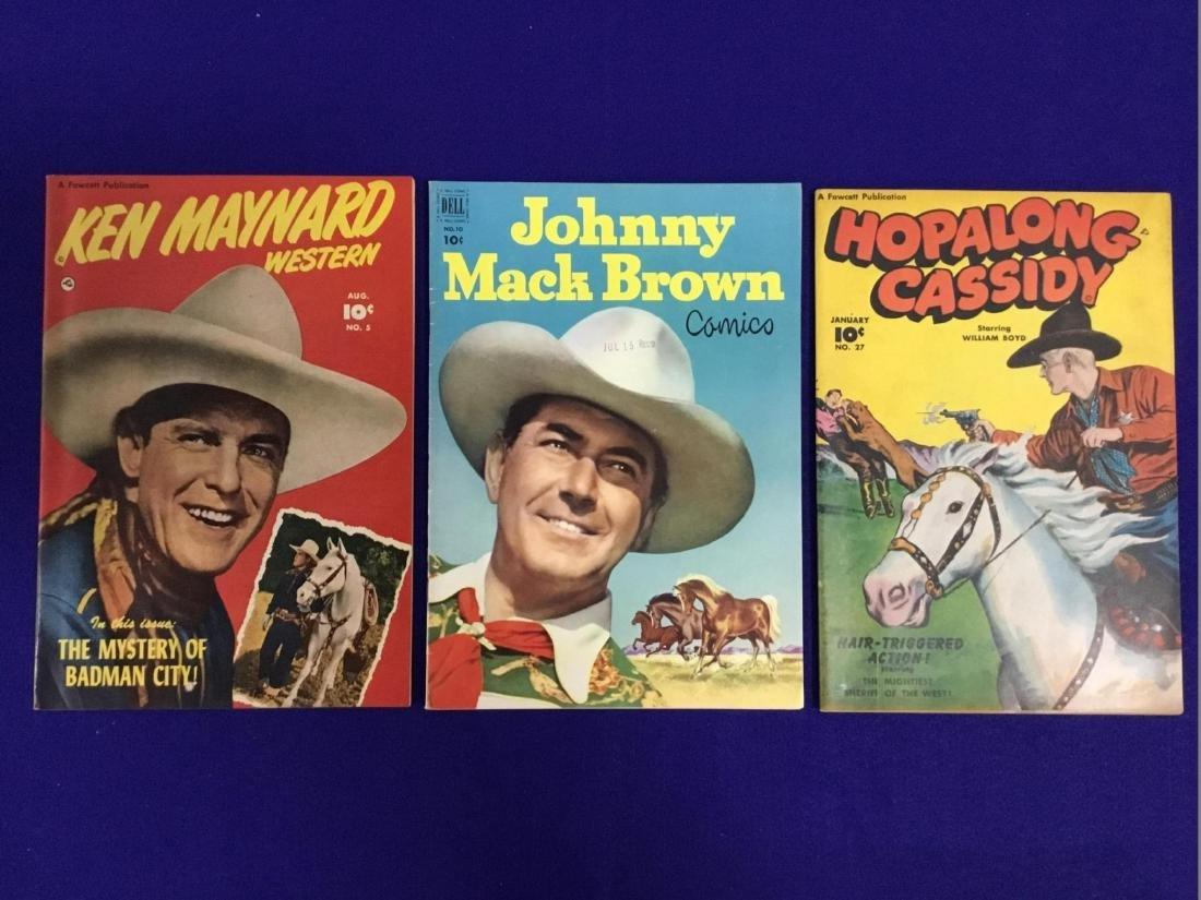 Ken Maynard Western NO 5, Johnny Mack Brown NO. 10,