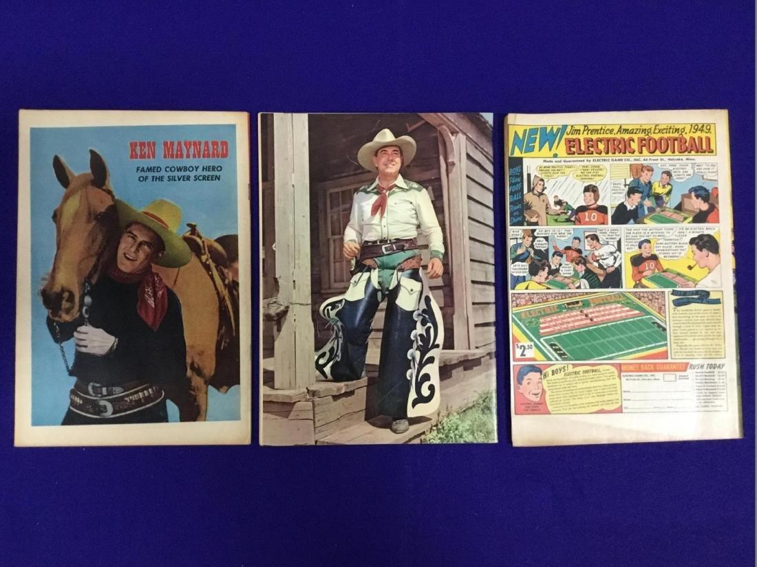 Ken Maynard Western NO 5, Johnny Mack Brown NO. 10, - 2