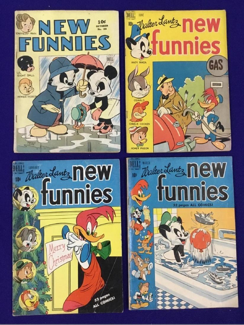 New Funnies no. 104, 148,155,157