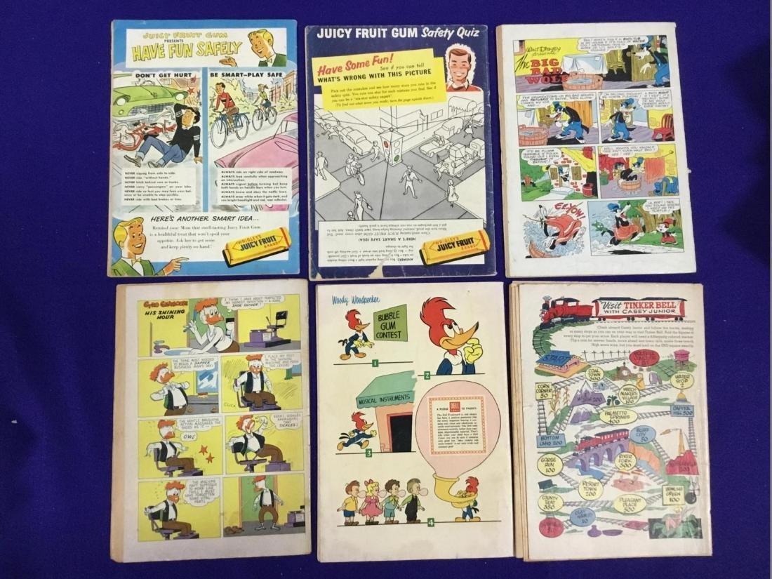 Lot of Six Dell Disney Comics - 2