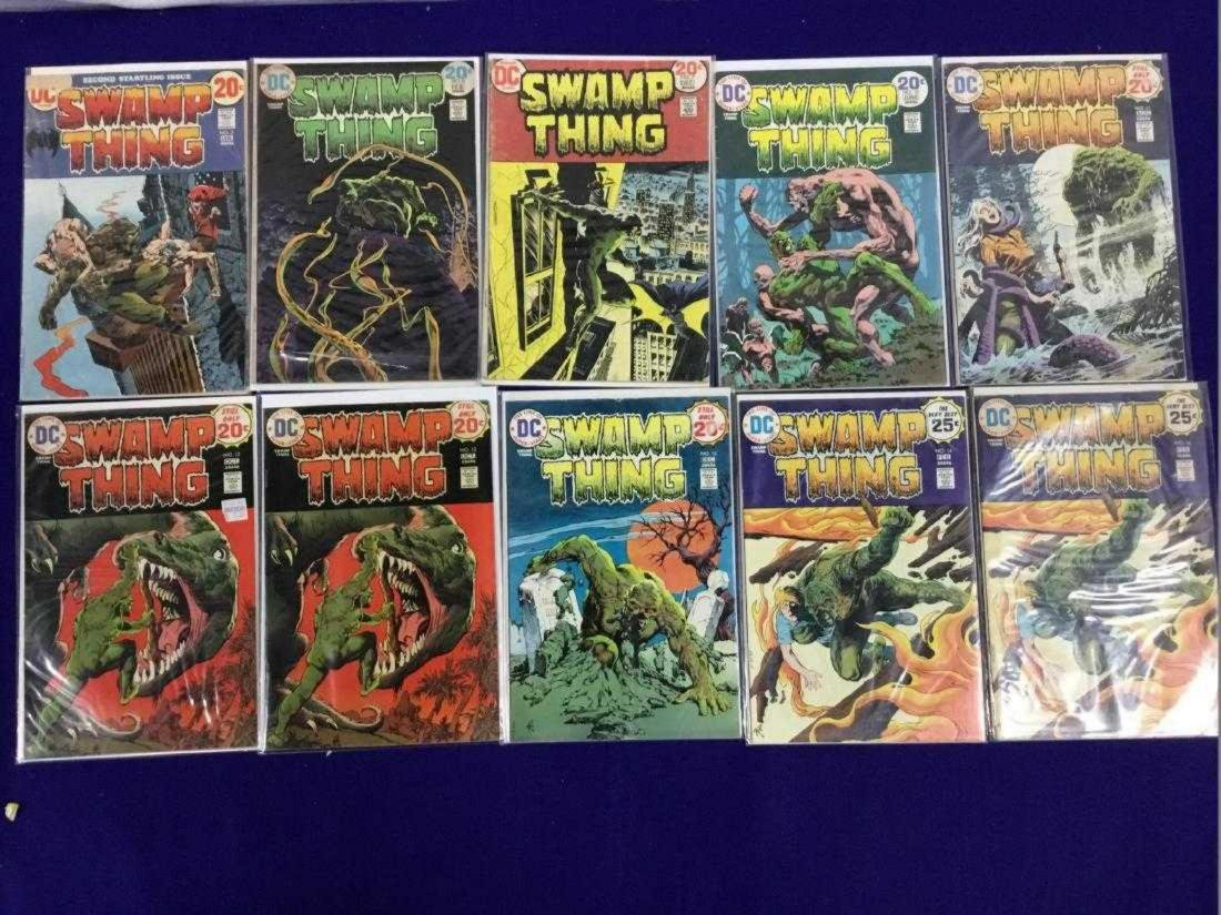 Lot of 10 Swamp Thing