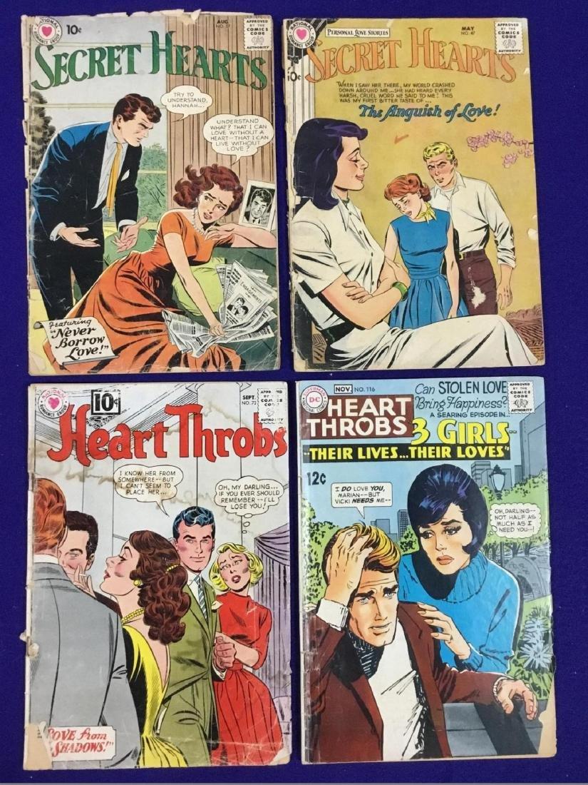 Lot of 4 Romance Comics