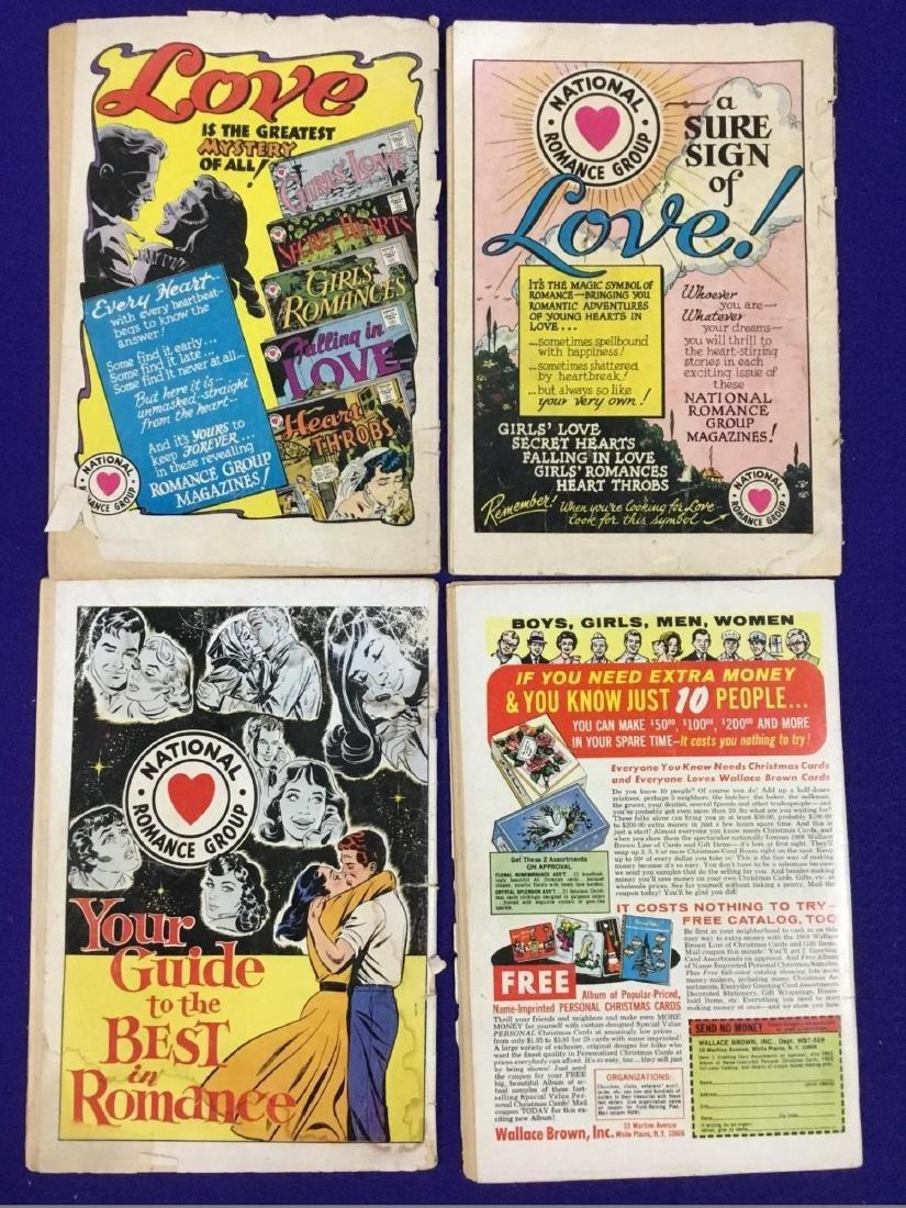 Lot of 4 Romance Comics - 2