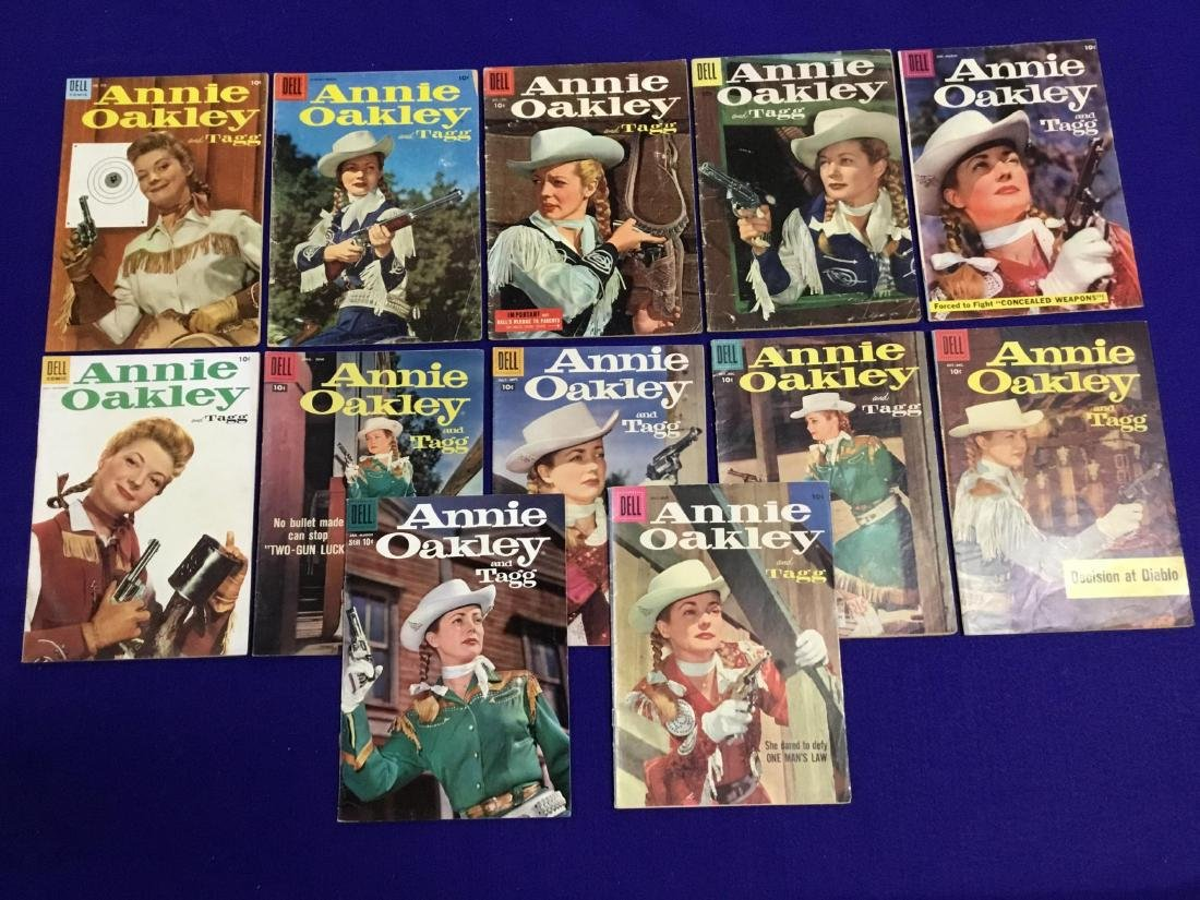 Annie Oakley 12 Issues
