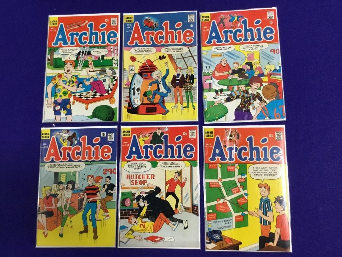 Archie #160,163,16,169,170,177