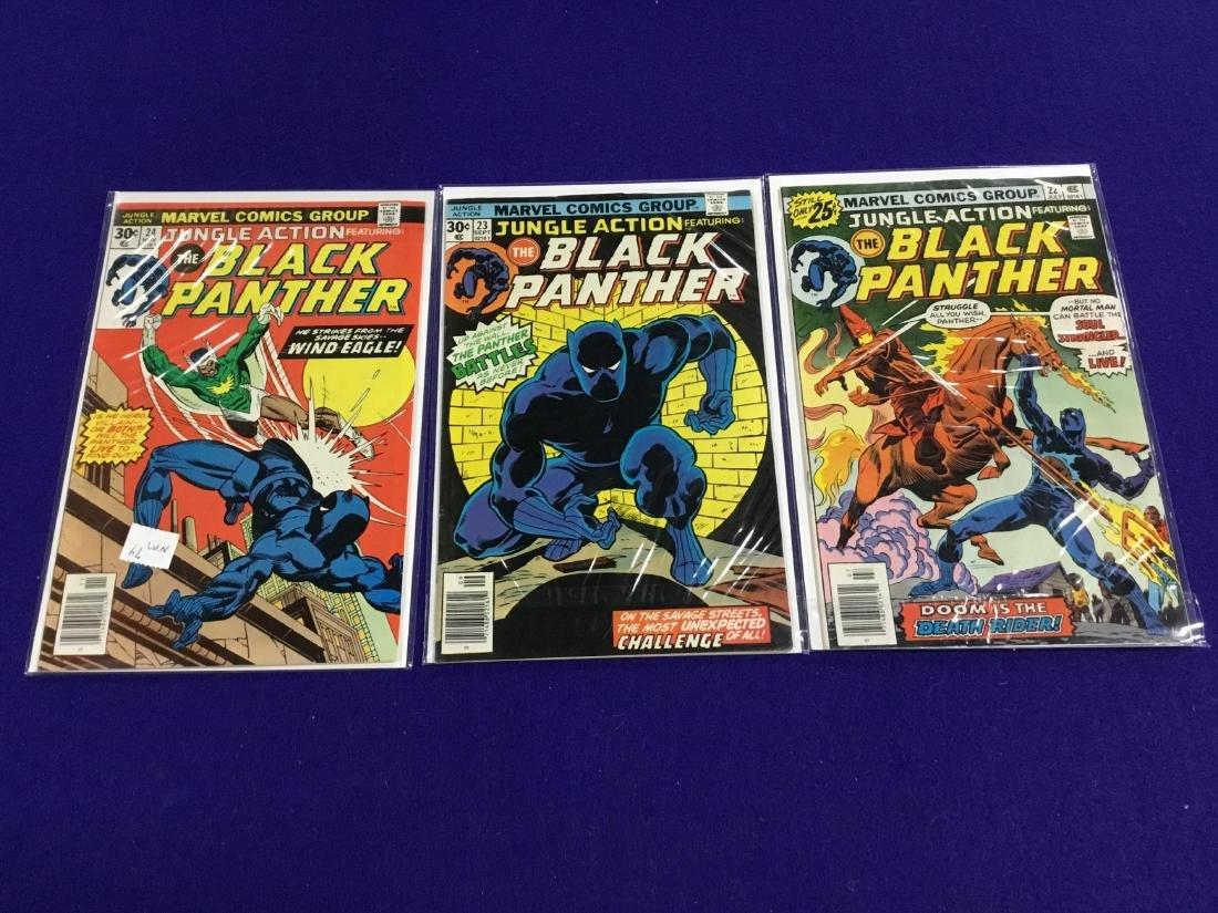 Black Panther #22-24