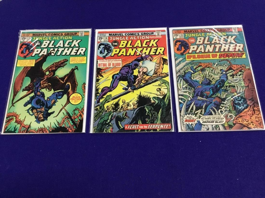Black Panther #15-18