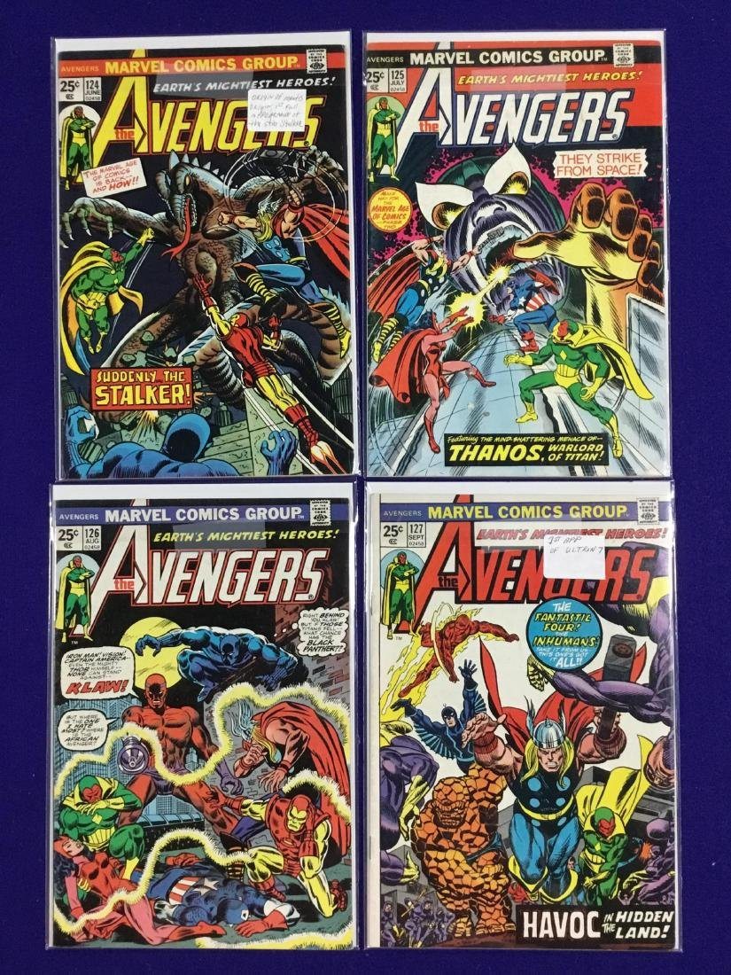 Avengers #124-127
