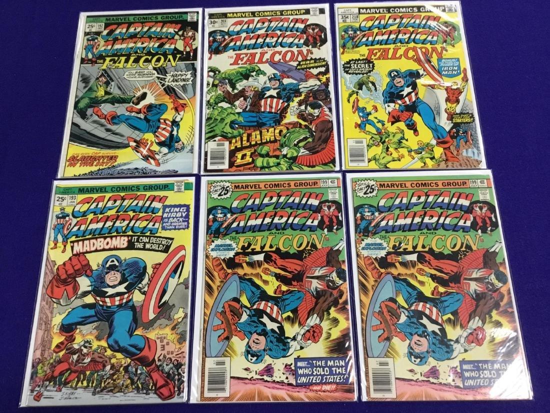 Captain America #192,193,199,199,203,218