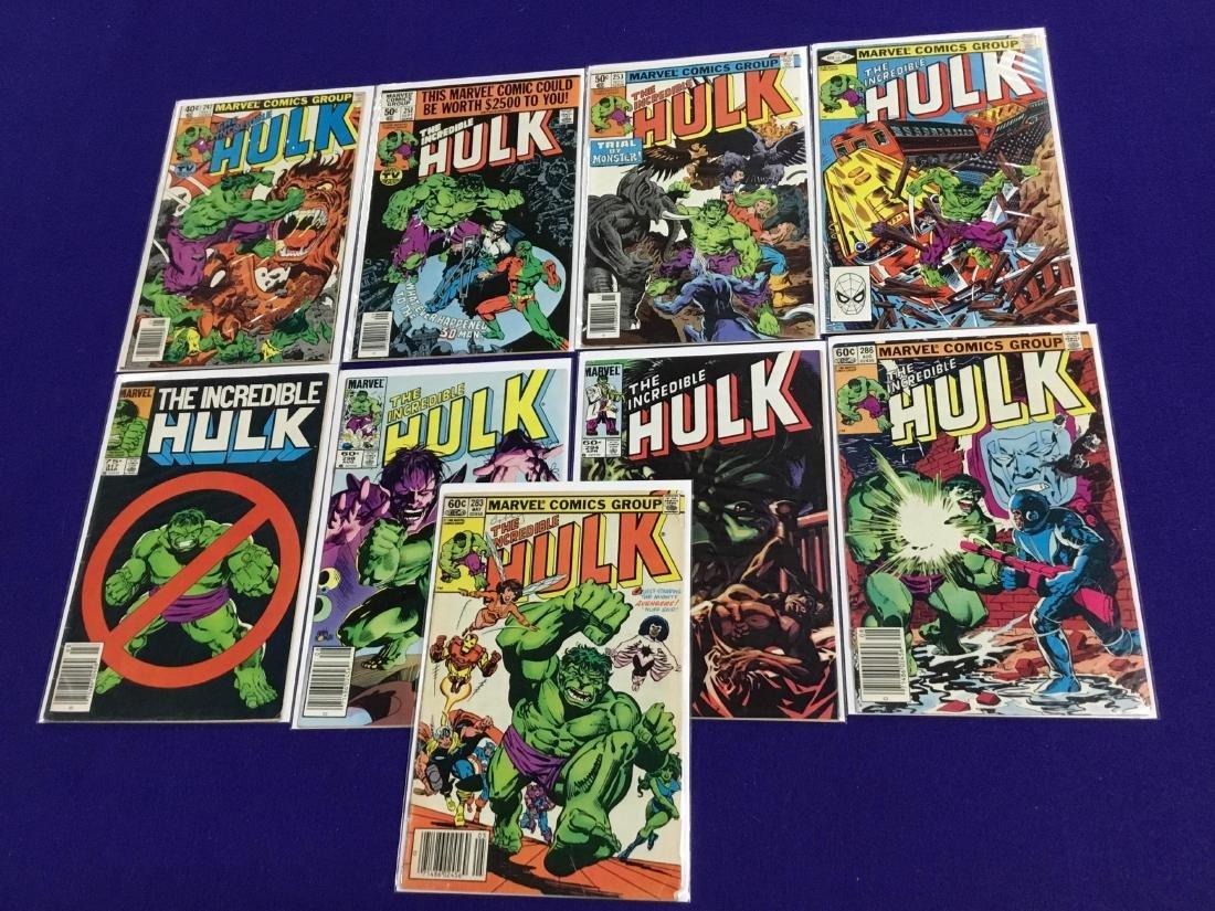 Hulk #247,251,253,274,283,286,294,298,317