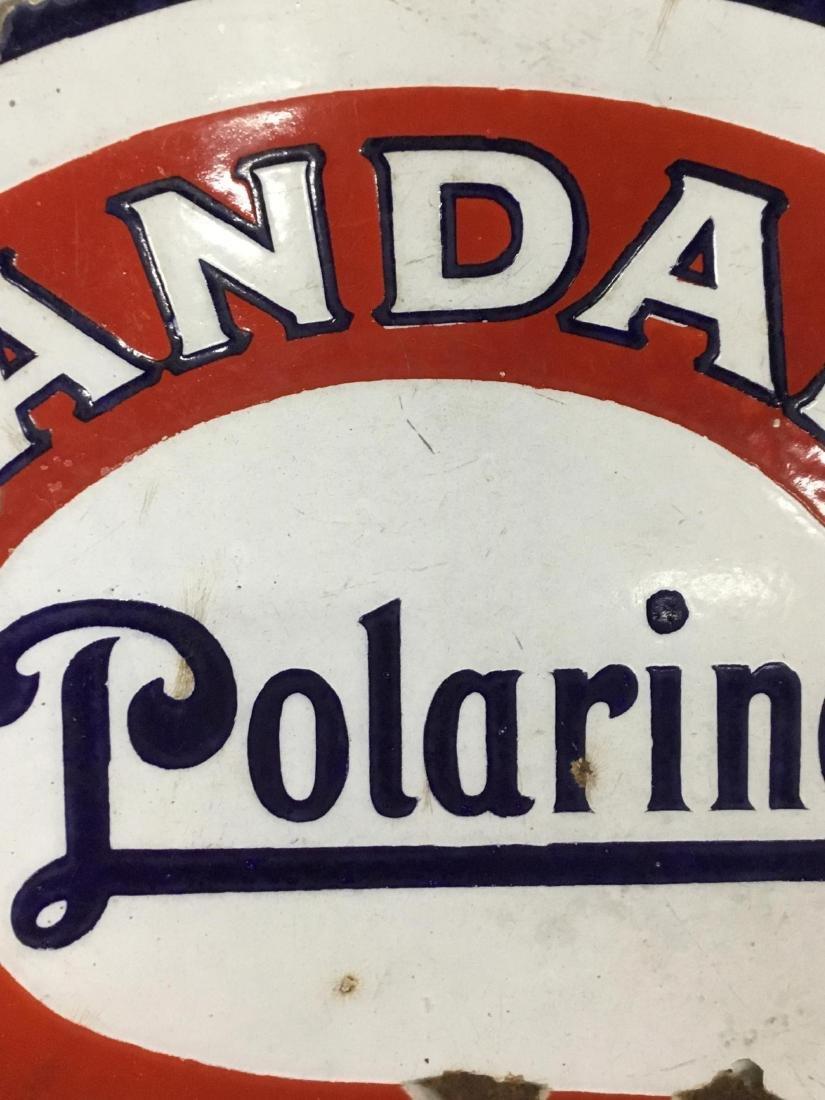Standard Polarine Motor Oil Sign - 3