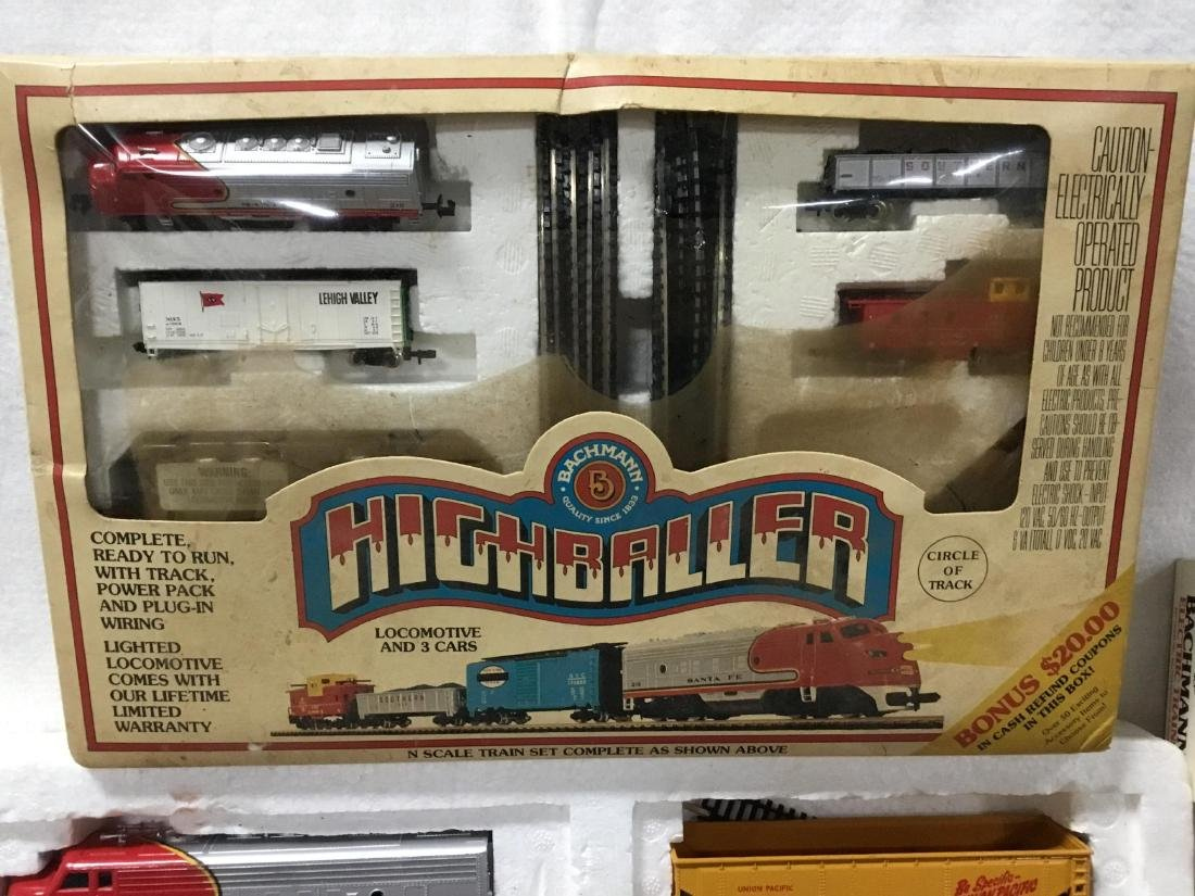 Huge Lot of Bachmann Trains, tracks, and accessories - 3