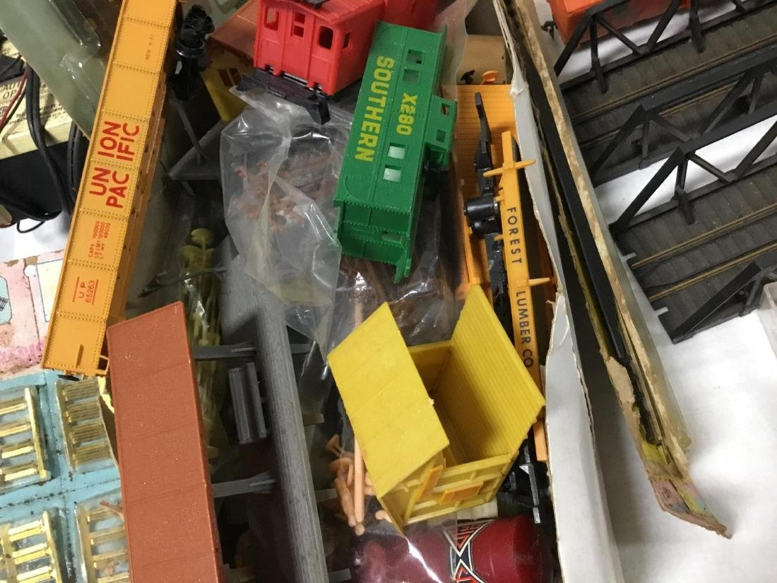Huge Lot of Bachmann Trains, tracks, and accessories - 7