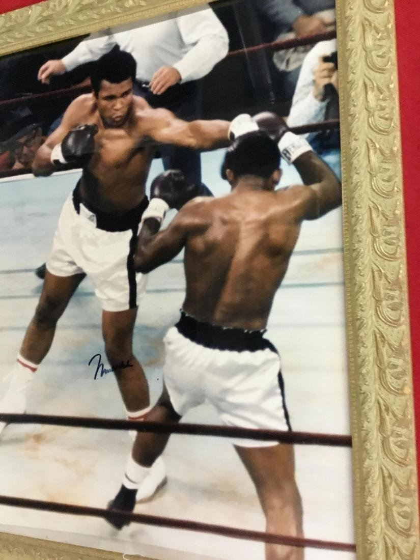 Autographed Photo of Muhammed Ali with COA - 3