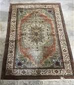 Fine Silk Persian Rug