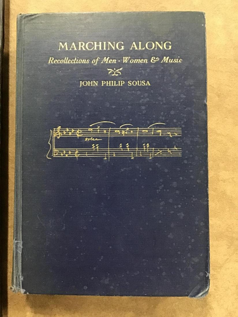 Autographed Photo of John Philips Sousa and 2 Books - 4