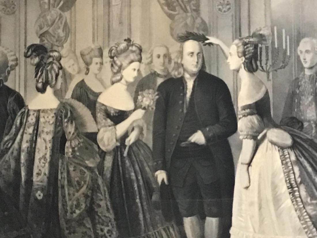 Franklin's Reception at the Court of France, 1778 - 3