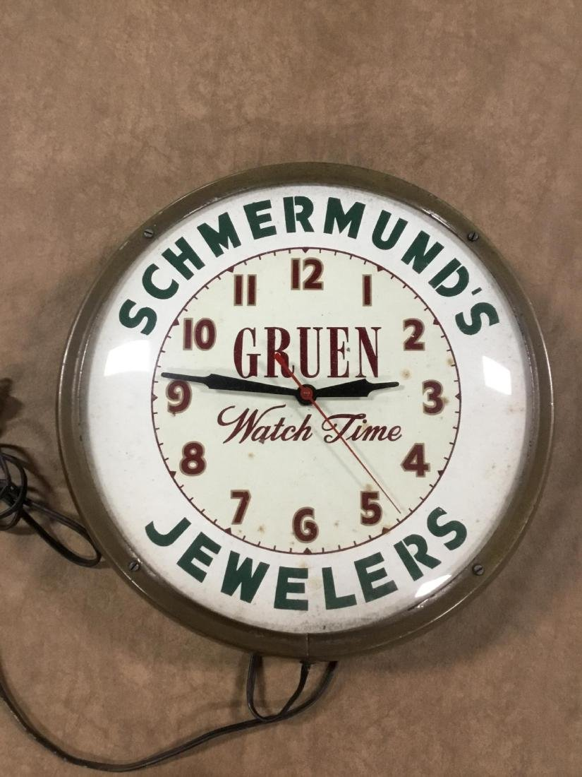 Schmermunds Jewelers Electric Clock