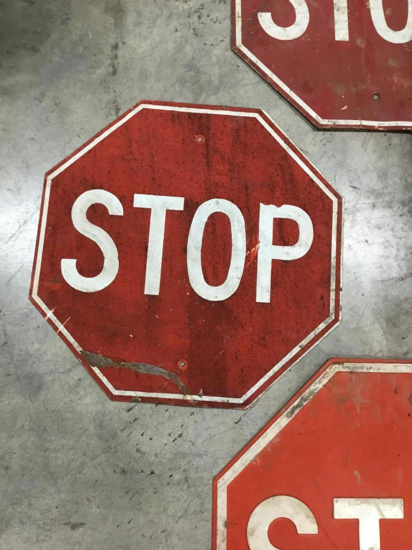 Lot of 4 Signs - 3