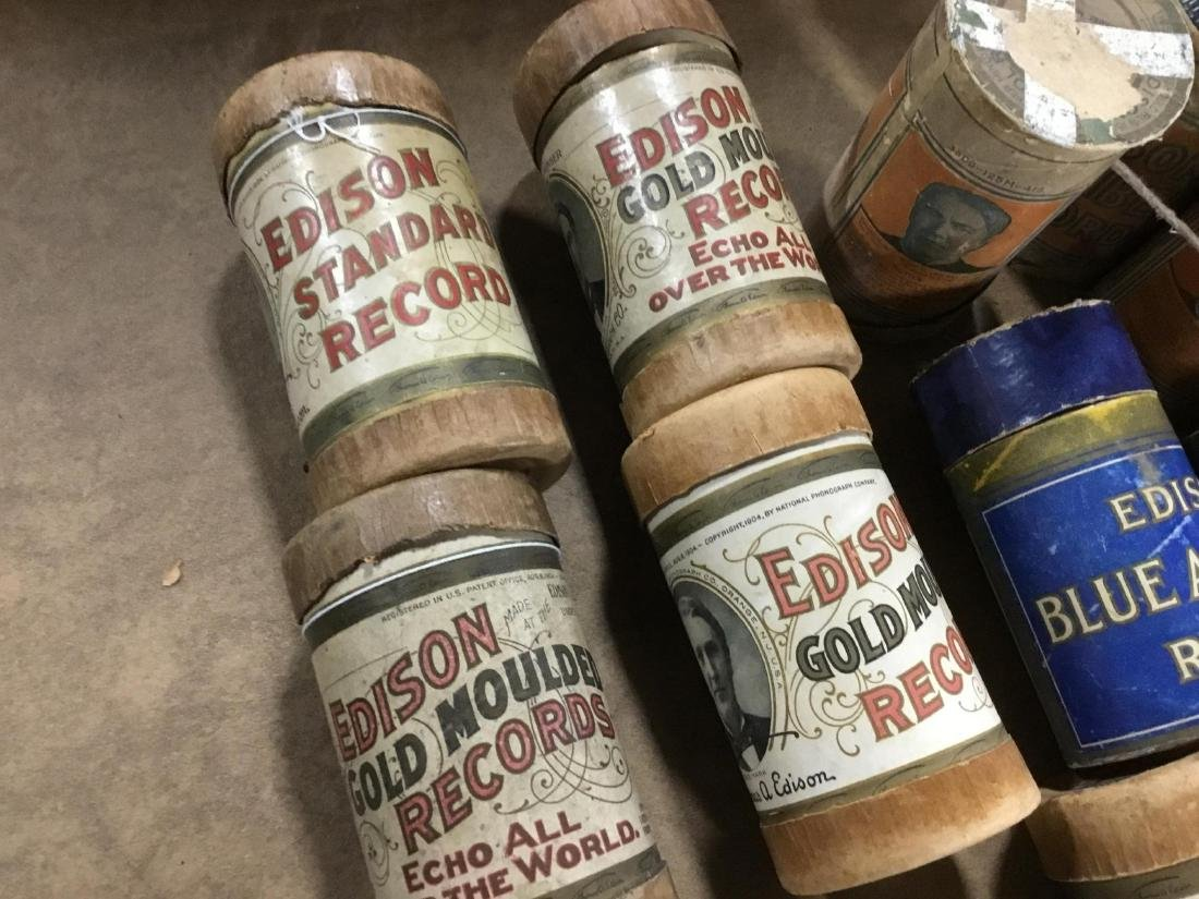 Lot of 17 Edison Cylinders - 2