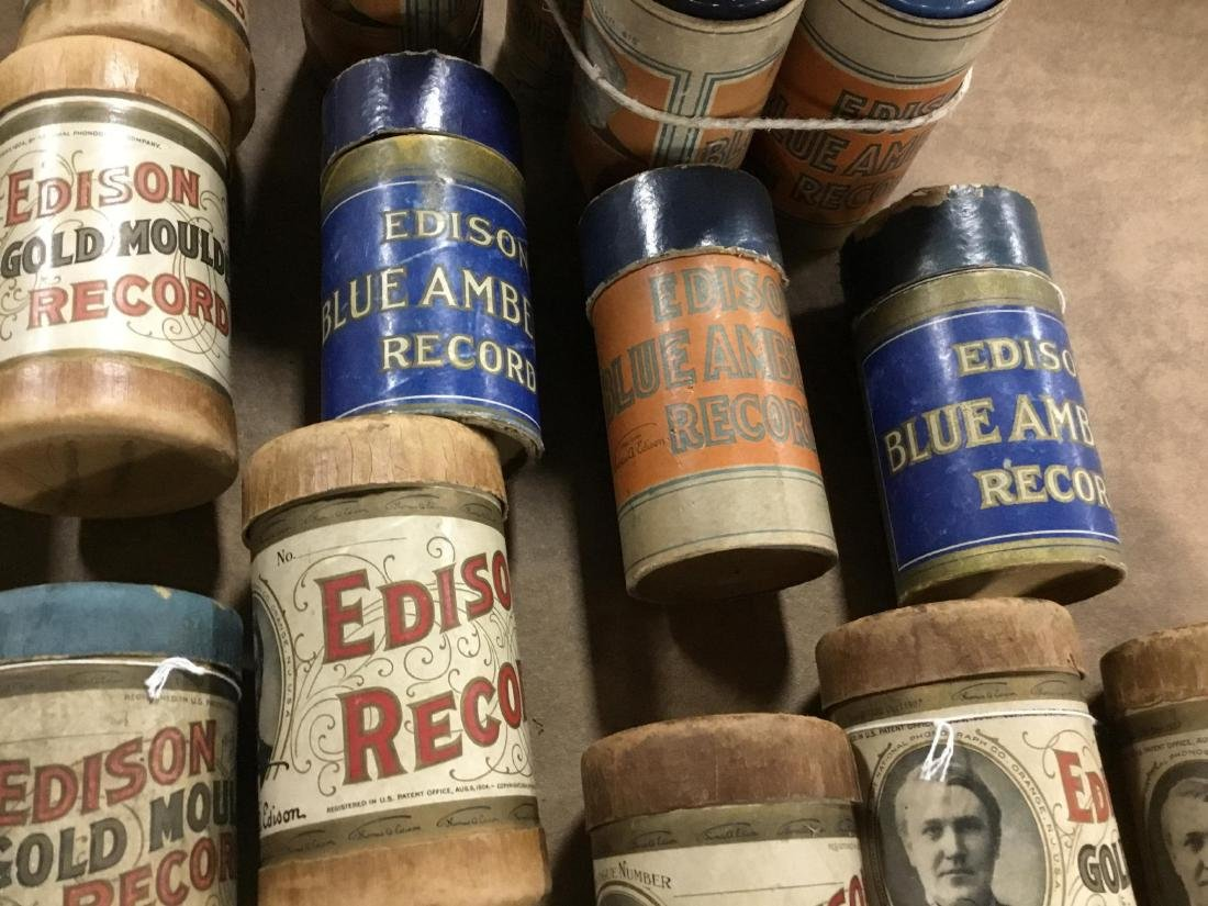 Lot of 17 Edison Cylinders - 3