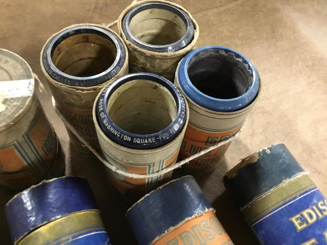 Lot of 17 Edison Cylinders - 4
