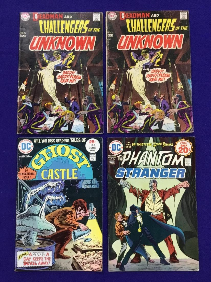 Lot of 4 DC Comics