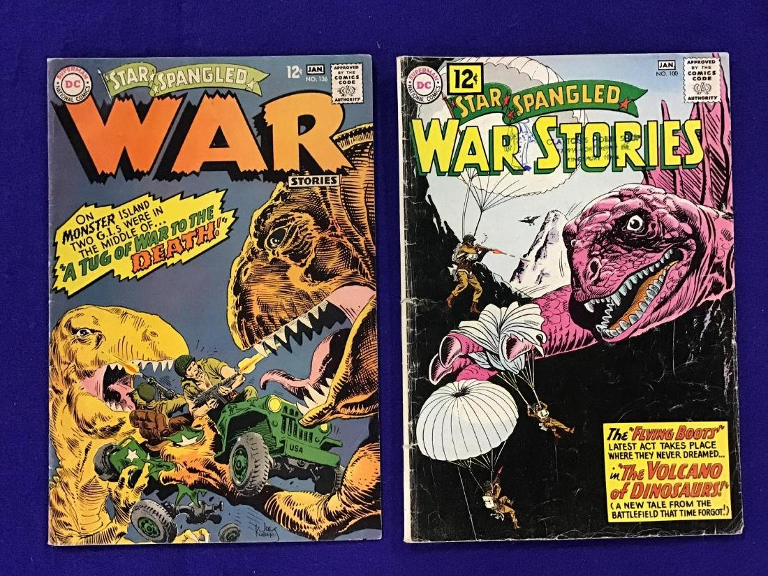 """Lot of 2 """"War"""" Comics"""