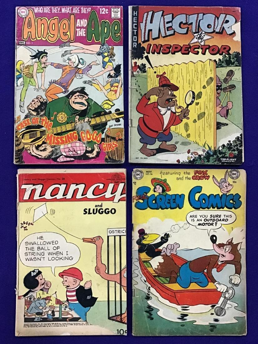 Lot of 4 Vintage Comics