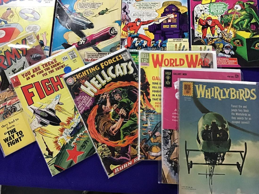 """Lot of 14 """"war"""" Comics - 3"""