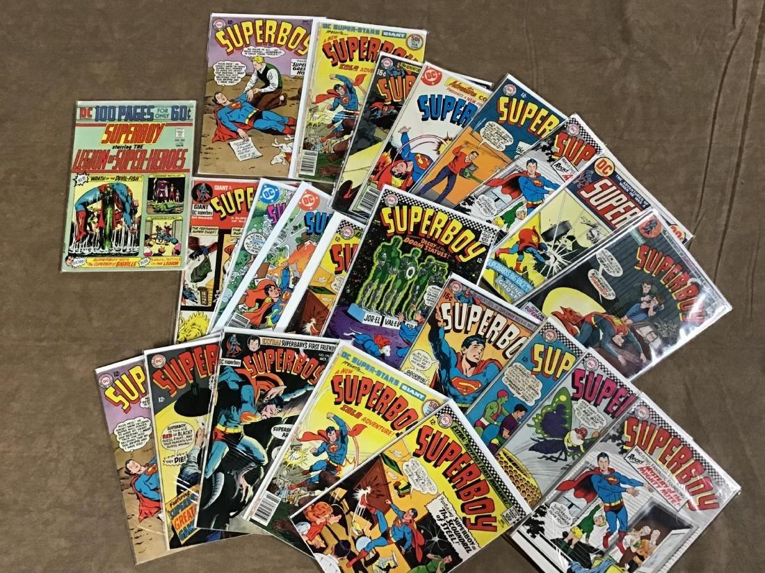 Lot of 23 SuperBoy Comics