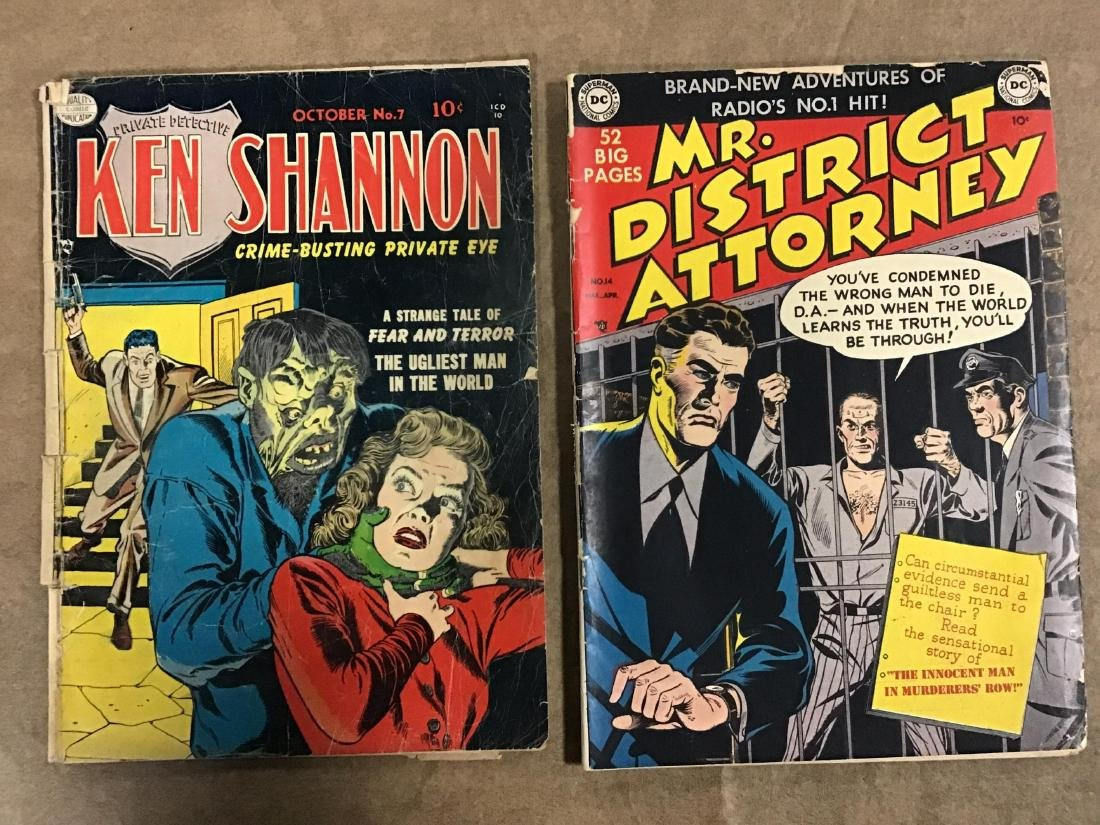 Lot of 2 Ken Shannon and Mr. Districk Attorny