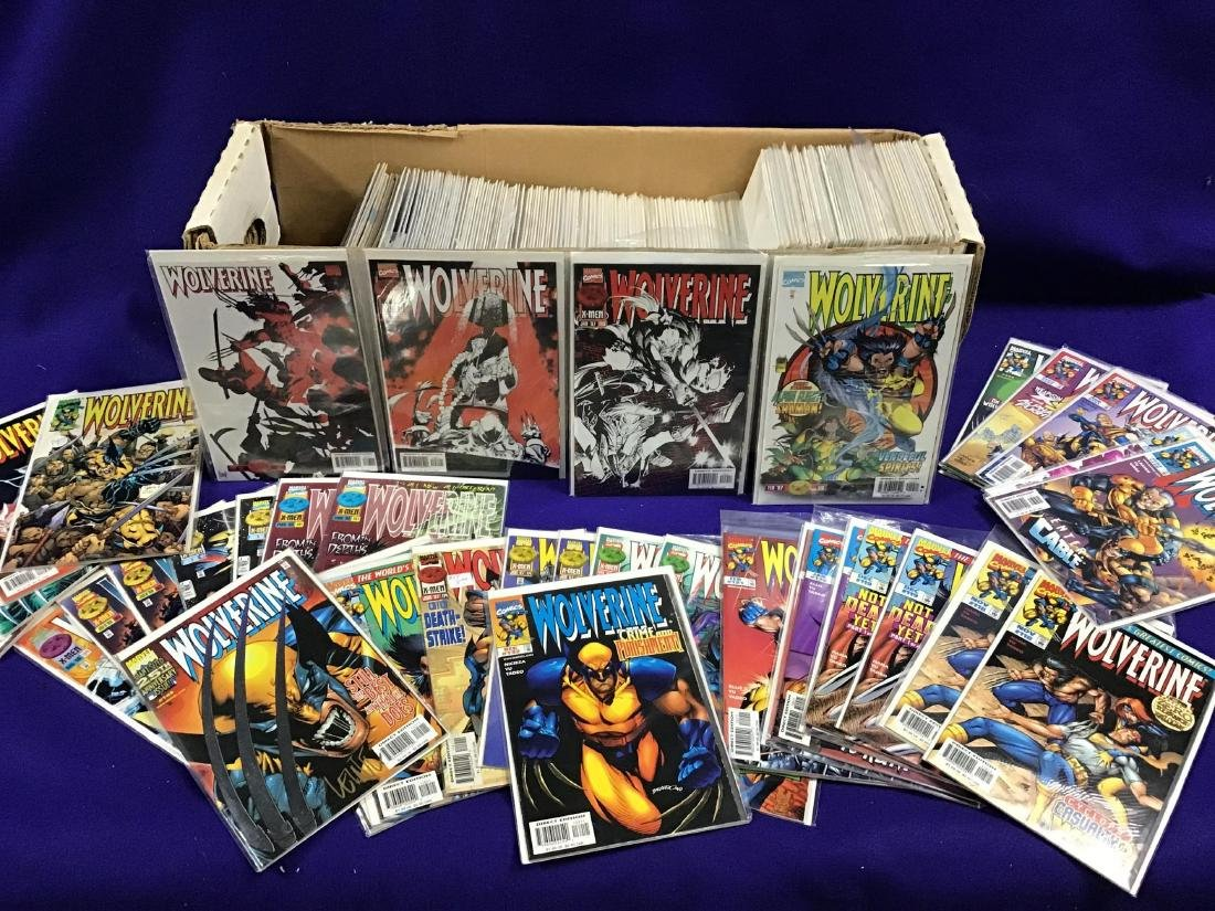 Lot of Assorted Wolverine Comics Approx. 275 + or -