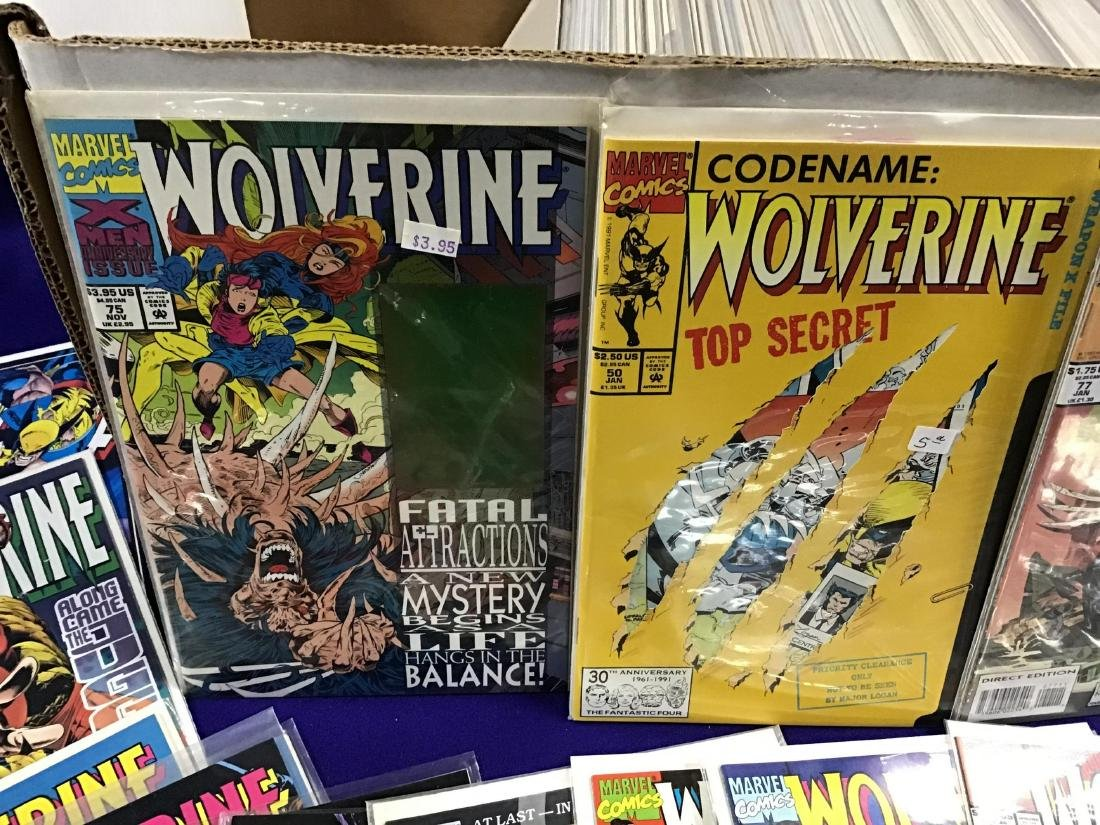 Lot of Assorted Wolverine Comics Approx. 275 + or - - 2