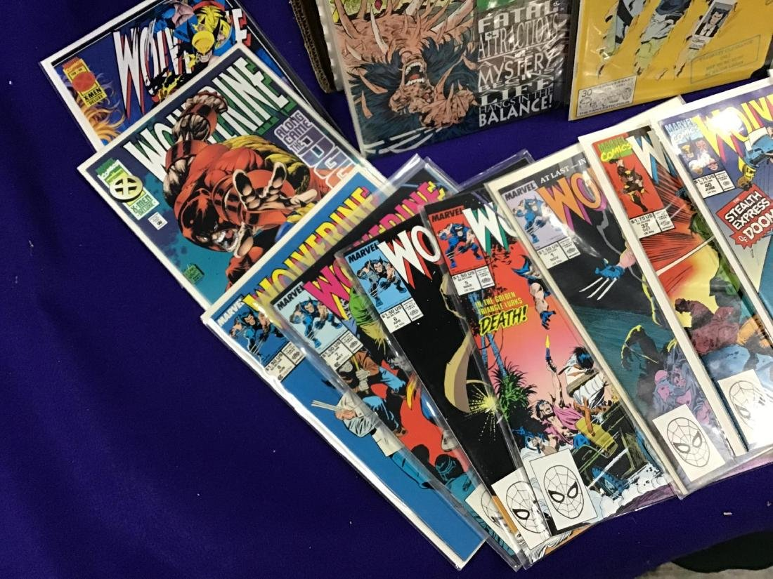 Lot of Assorted Wolverine Comics Approx. 275 + or - - 3
