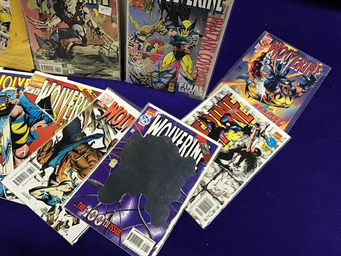 Lot of Assorted Wolverine Comics Approx. 275 + or - - 4