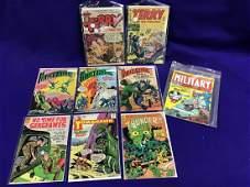 Lot of 9 War Comics