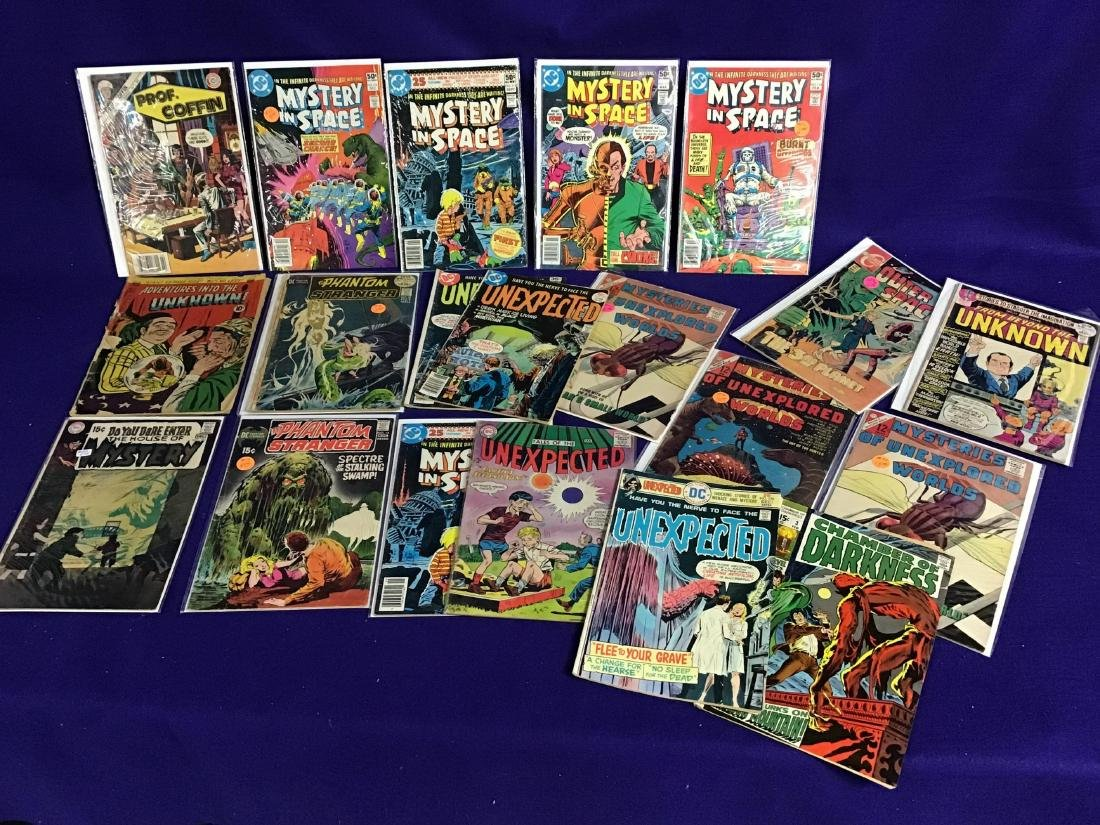 Lot of 20 Vintage Mystery Comics