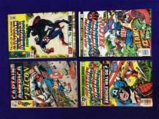 Lot of 4 Captian America Comics