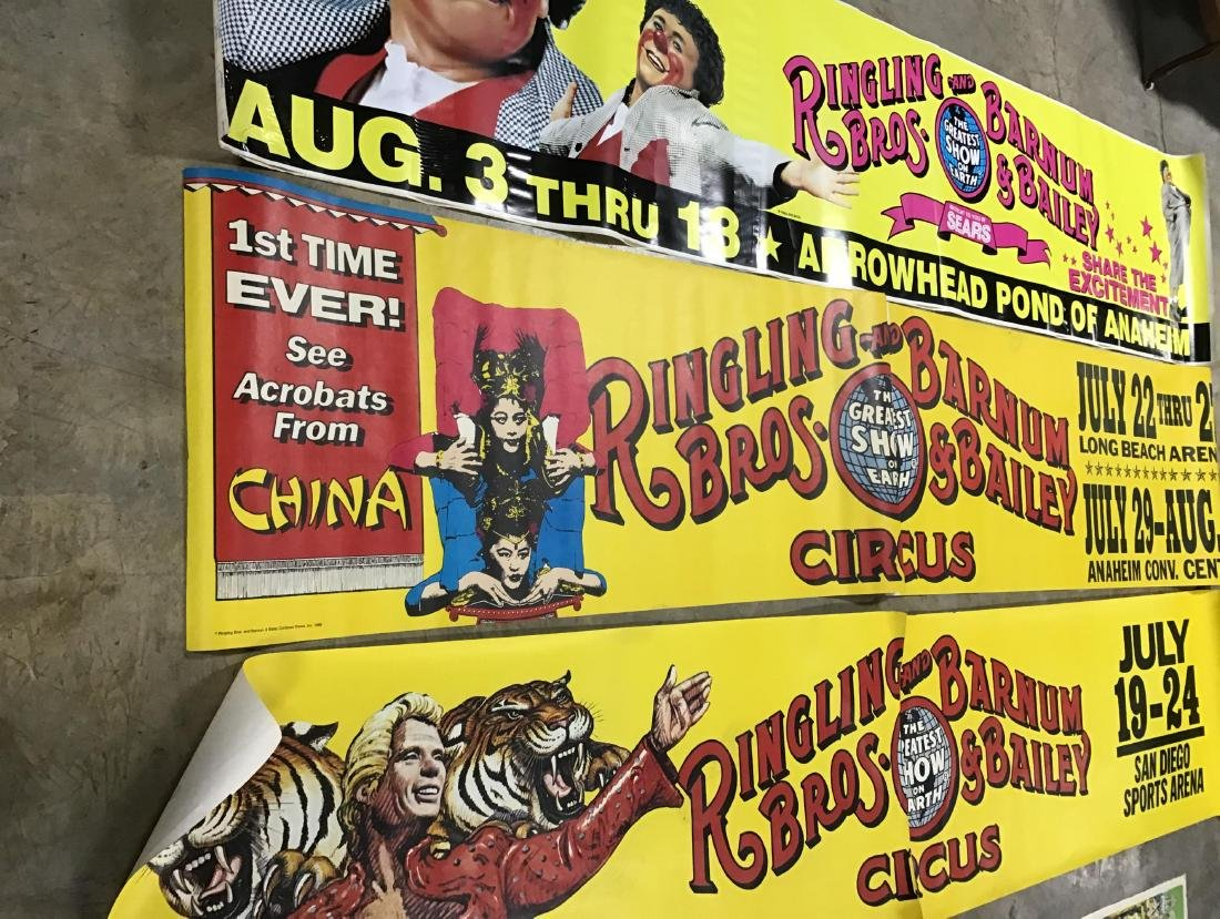 Lot of 3 Ringling Bros. and Barnum and Bailey Circus