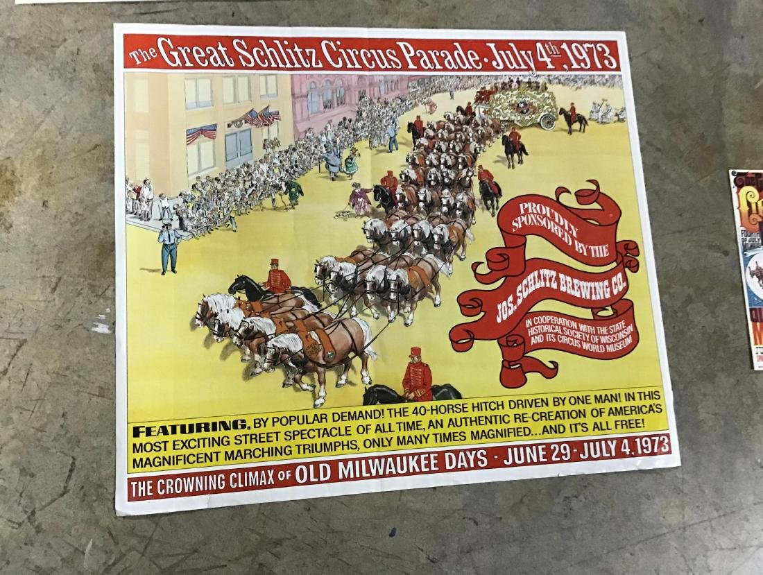 Lot of Vintage and Newer Circus posters, flyers and - 5