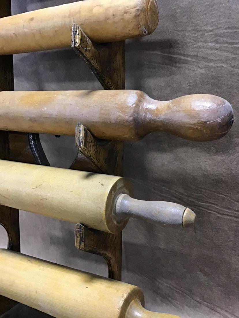 Rolling Pin Holder with 5 Rolling Pins - 4