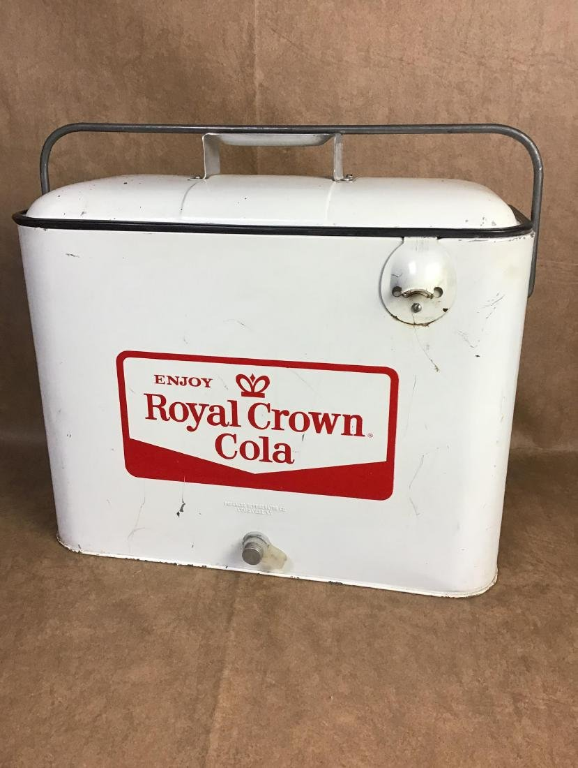 Royal Crown Cola Airline cooler