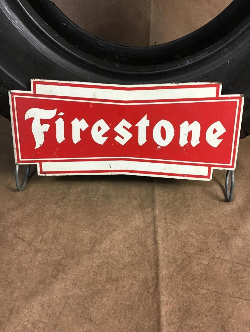 Firestone Advertising Tire Stand - 2