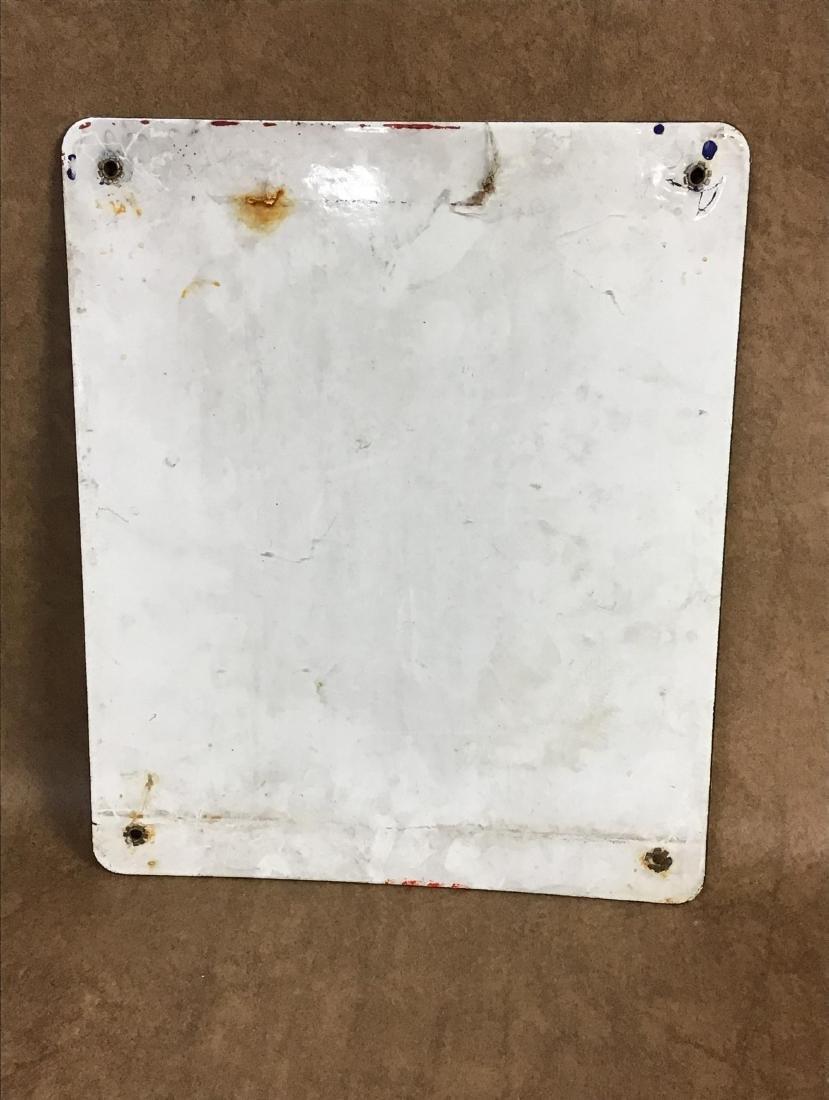 Pure Premium Porcelain Gas Pump Plate - 4