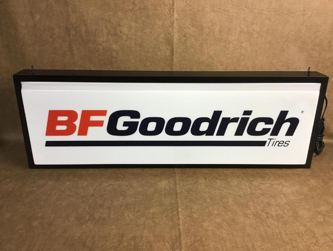 BF Goodrich Tires Lighted Sign