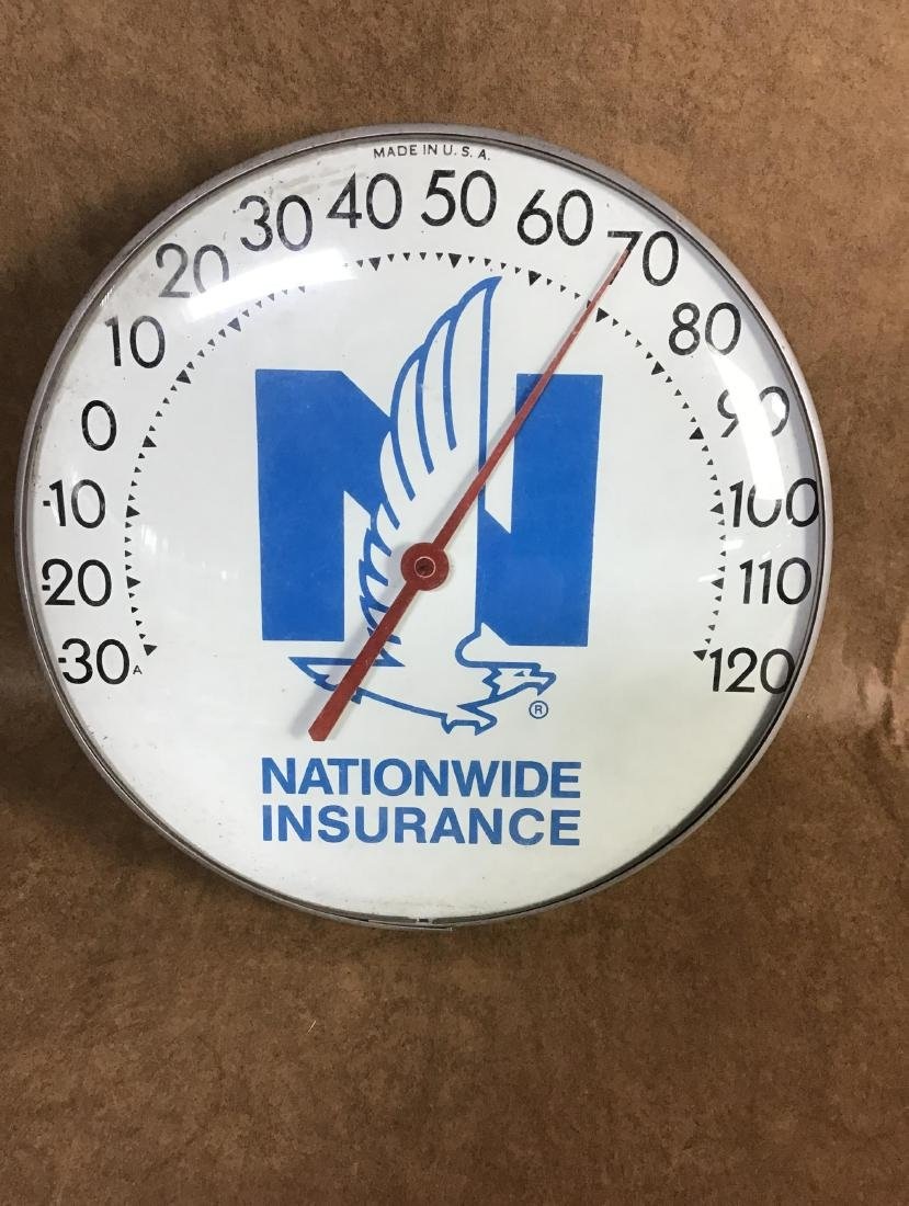 Nationwide Insurance Thermometer