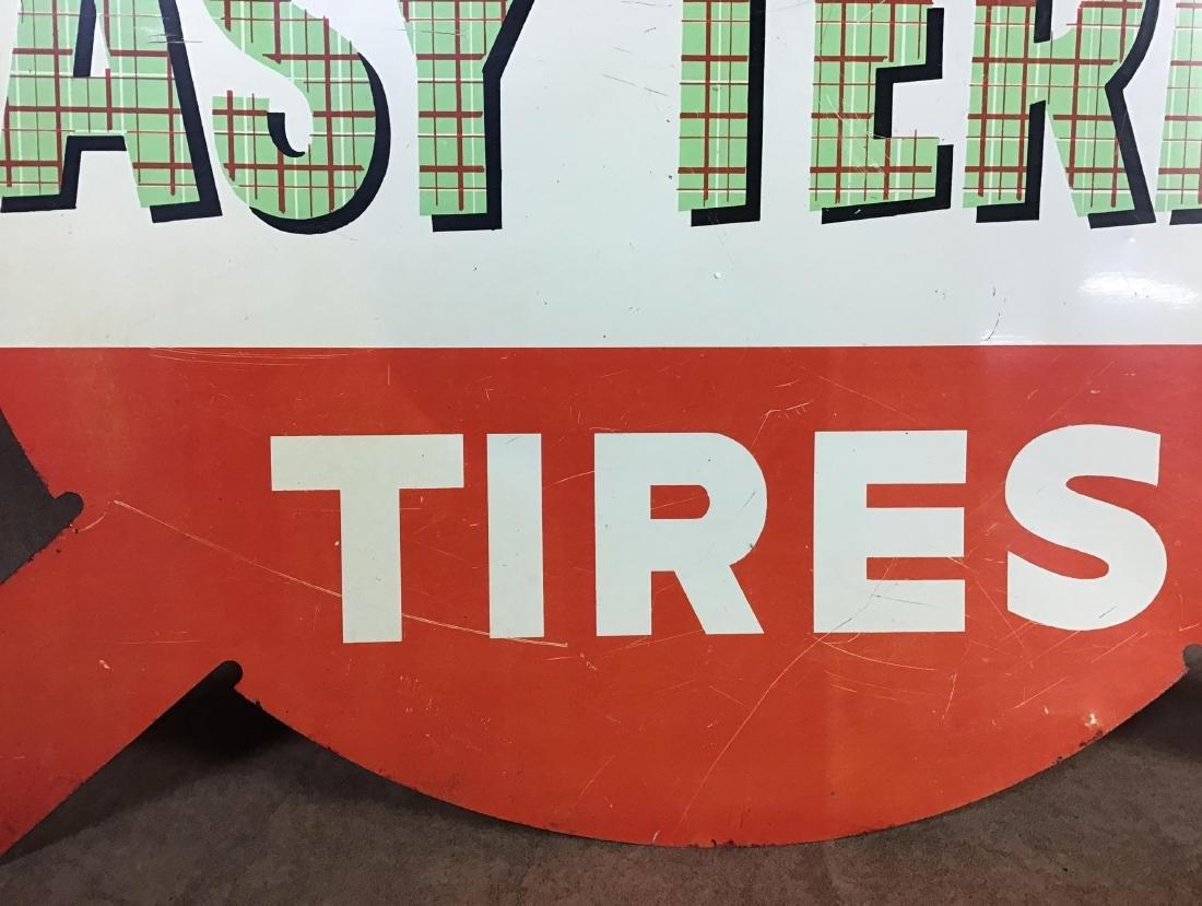 Atlas Tires Painted Metal Sign - 2